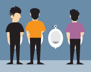 男子トイレが何より苦痛な男性な